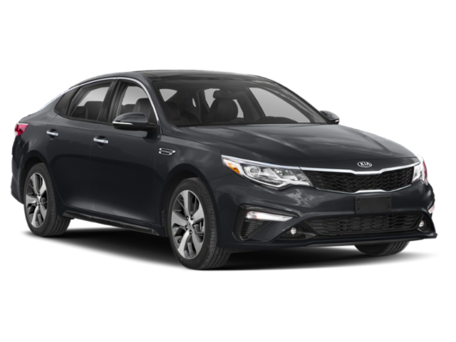 black 2019 kia optima