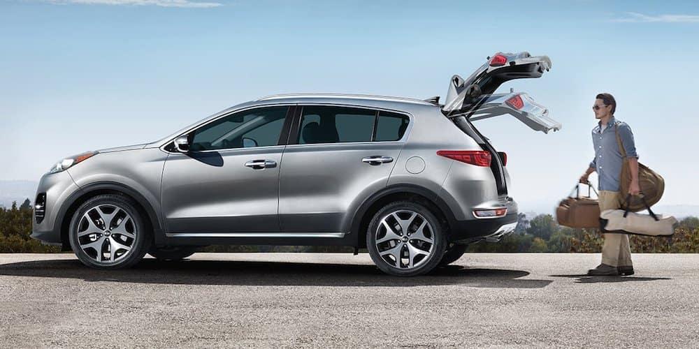 2019 sportage auto liftgate function