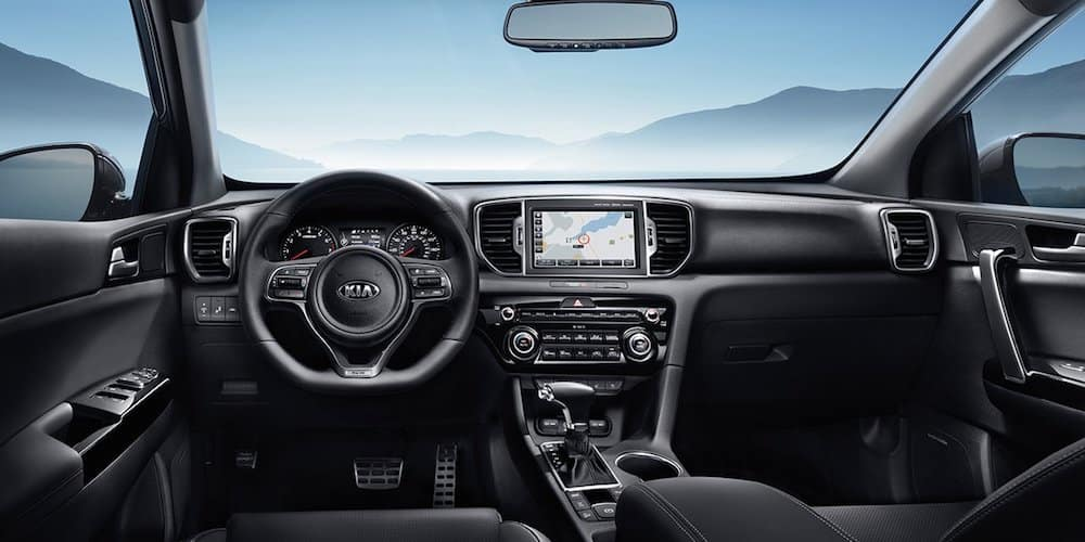 2019 sportage dash and infotainment