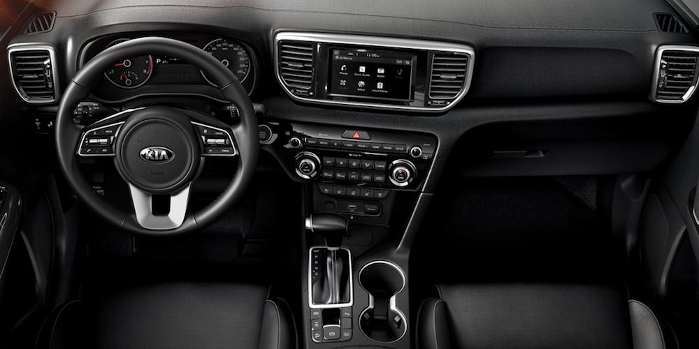 2020 Kia Sportage Front Interior and Dash