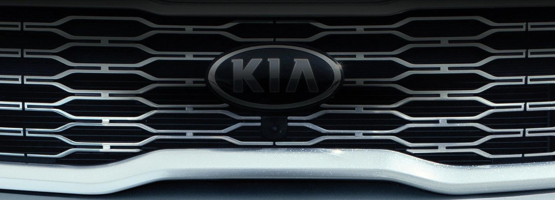 Kia Logo on Grill