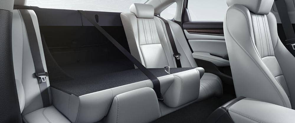 2018 Honda Accord rear split folding seat