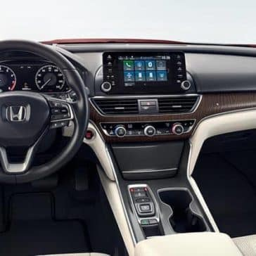 2018 Honda Accord Touring dashboard