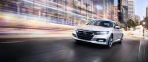 2018 Honda Accord Touring in the city