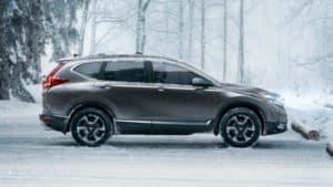 side exterior 2018 Honda CR-V