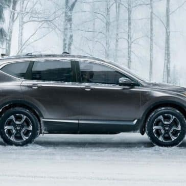 side exterior 2018 Honda CR-V