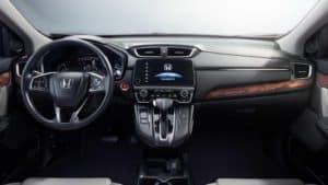dashboard 2018 Honda CR-V