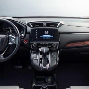 dashboard 2018 Honda CR-V