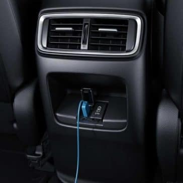 2018 Honda CR-V usb outlet