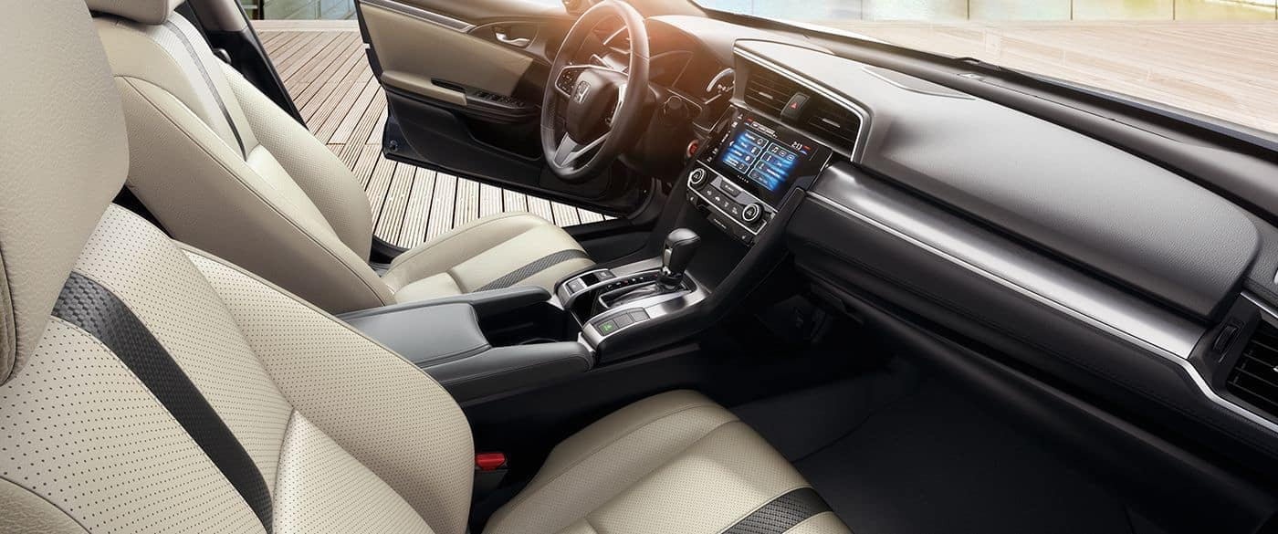 2018 Honda Civic interior cabin