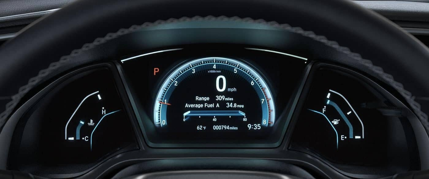 2018 Honda Civic instrument panel