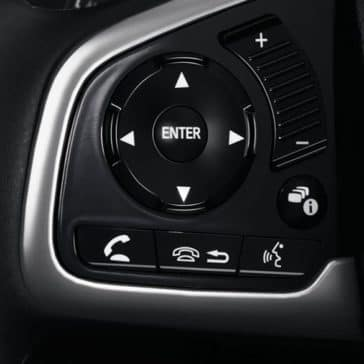 steering wheel controls 2018 Honda Civic