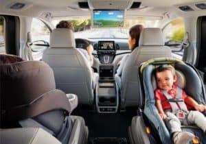 family in 2019 Honda Odyssey