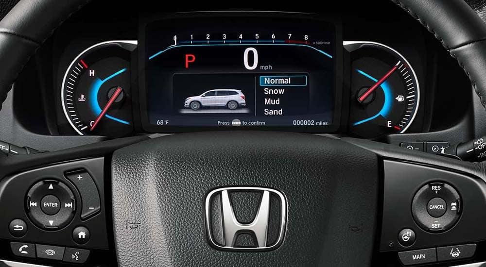 2019 Honda Pilot driver instrument panel