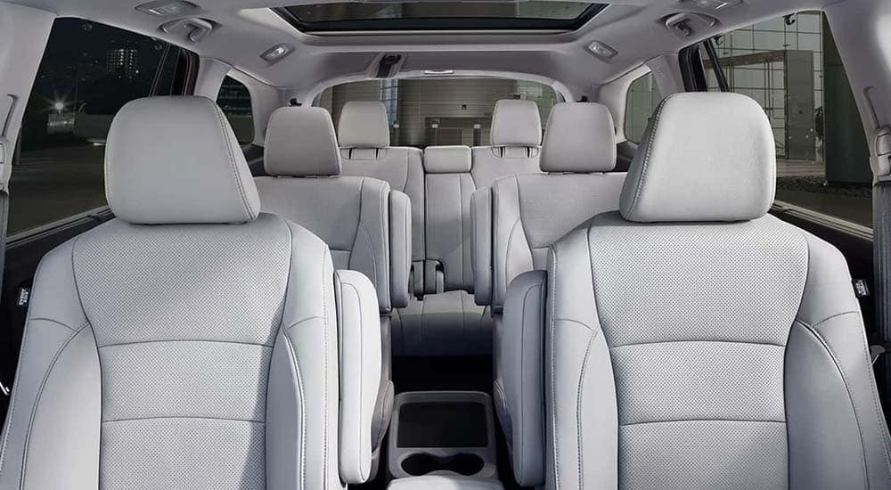 2019 Honda Pilot seating
