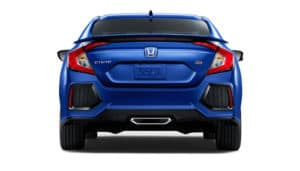 2018 Honda Civic Rear View