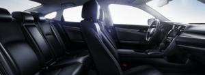 2019 Honda Civic interior seating