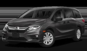 2019 Honda Odyssey black minivan