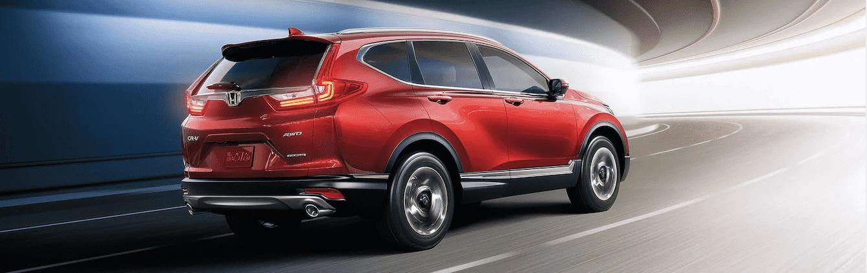 Red Honda CR-V