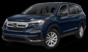 2019 Honda Pilot SUV blue