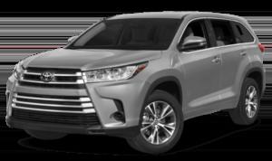 2019 Toyota Highlander silver SUV