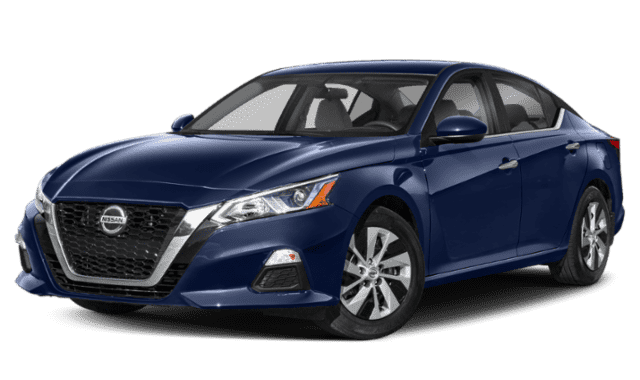 Blue 2019 Nissan Altima