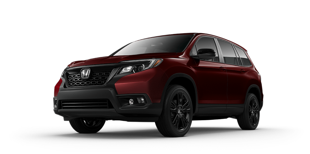 2019 Honda Passport Red