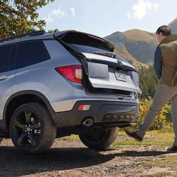 2019 Honda Passport Trunk