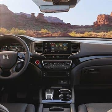 2019 Honda Passport Dash