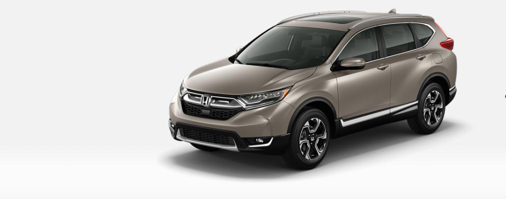 Cream 2019 Honda CR-V