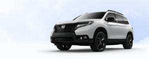 White 2019 Honda Passport