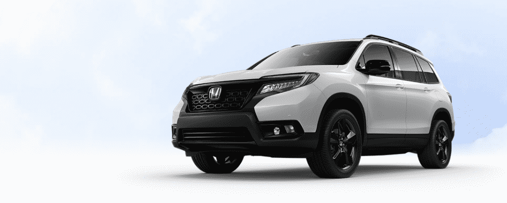 White 2019 Honda Passport