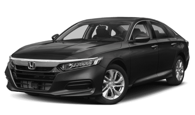 Black 2019 Honda Accord LX