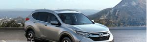 Silver Honda CR-V