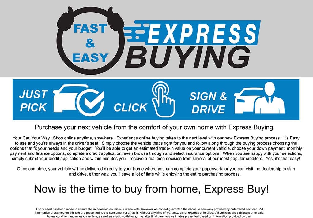 Express Buying Page Honda 0420