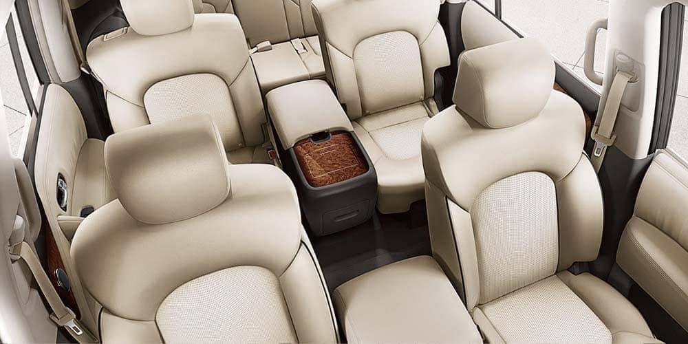 2018 Nissan Armada leather interior