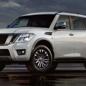 2018 Nissan Armada side profile