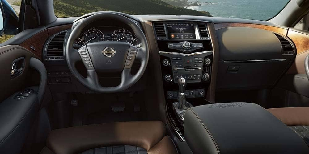 2018 Nissan Armada interior dash