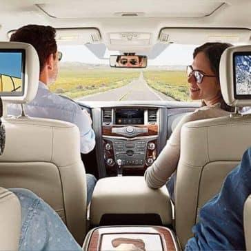 family in 2018 Nissan Armada