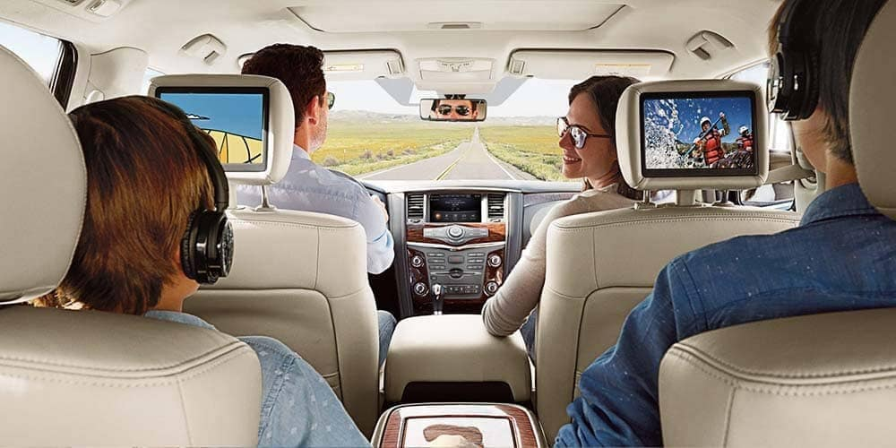 family in 2018 Nissan Armada