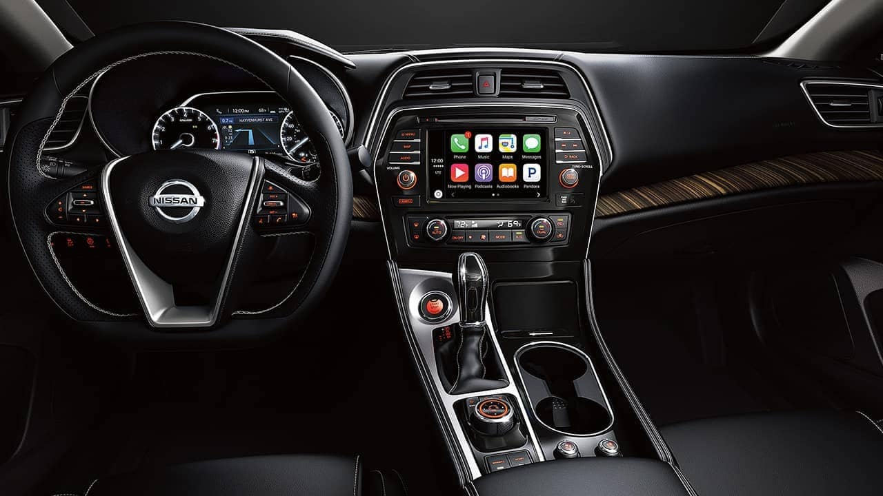 dashboard of 2018 Nissan Maxima