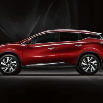 side exterior 2018 Nissan Murano