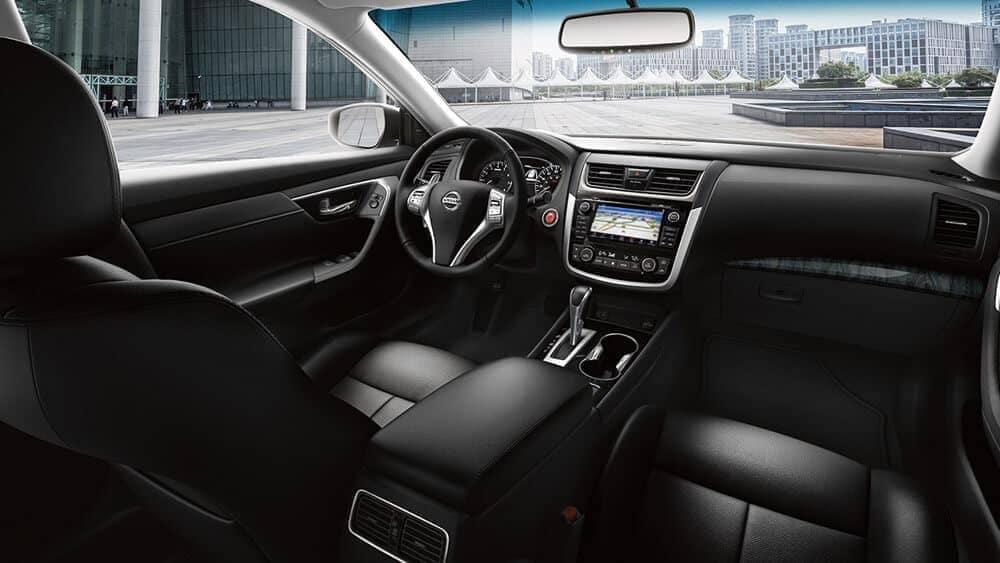 2018 Nissan Altima interior cabin