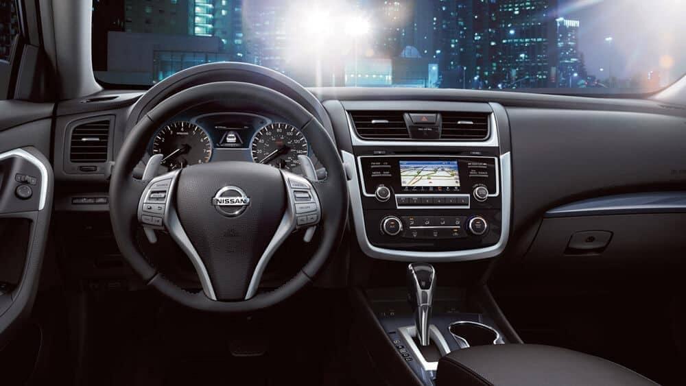 2018 Nissan Altima dashboard