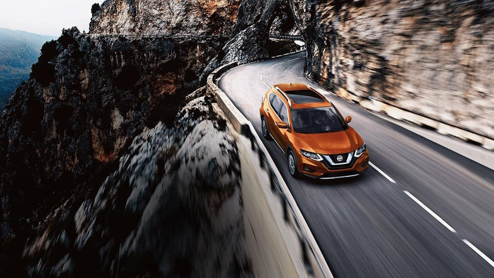 2018 Nissan Rogue in Monark Orange