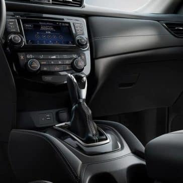 2018 Nissan Rogue interior leather