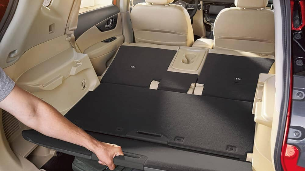 2018 Nissan Rogue hidden truck compartment