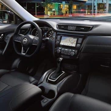 dashboard of 2018 Nissan Rogue