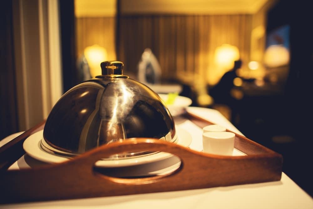 Room Service Platter at Hotel