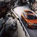 2019 Nissan Rogue Driving on Mountain
